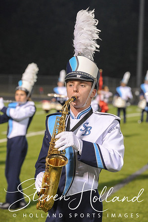 Band - Stone Bridge Marching Bulldogs 9.21.2018 (by Steven Holland)