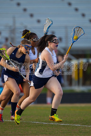 Mt Tabor Spartans vs Bishop McGuinness Villains Women's Varsity LAX 5/2/2014