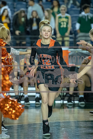 Lewis & Clark vs Kentridge Girls Semifinal