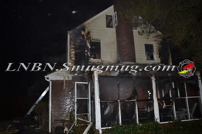 Hempstead F.D. Woring Fire 25 Alicia Ct. 1-24-12