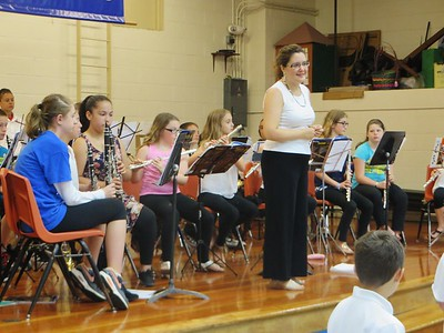 Pittsfield advance elementary school band tour