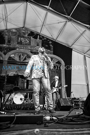 Davell Crawford & One Foot In The Blues @ Blues Tent (Fri 5/5/17)