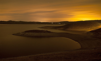 San Luis Reservoir - Pacheco Pass, California