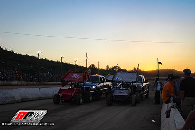 All Star Circuit Of Champions - King of Dirt 358-Mods - Lebanon Valley - 7/30/17 - Lucas Ballard