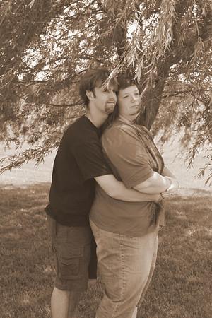 Dan And Shelley 20100626 (Sepia)