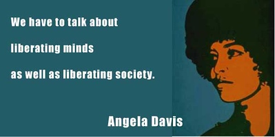 (C14) Angela Davis with quote