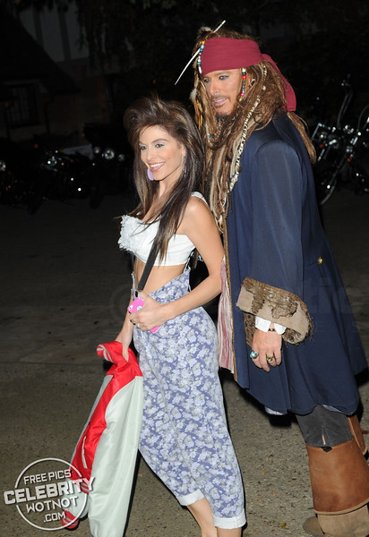 Maria Menounos Dresses As Saved by the Bell's Kelly Kapowski For Halloween Party