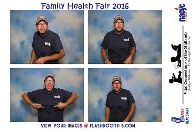 Vital Connections health fair 2016 photo booth