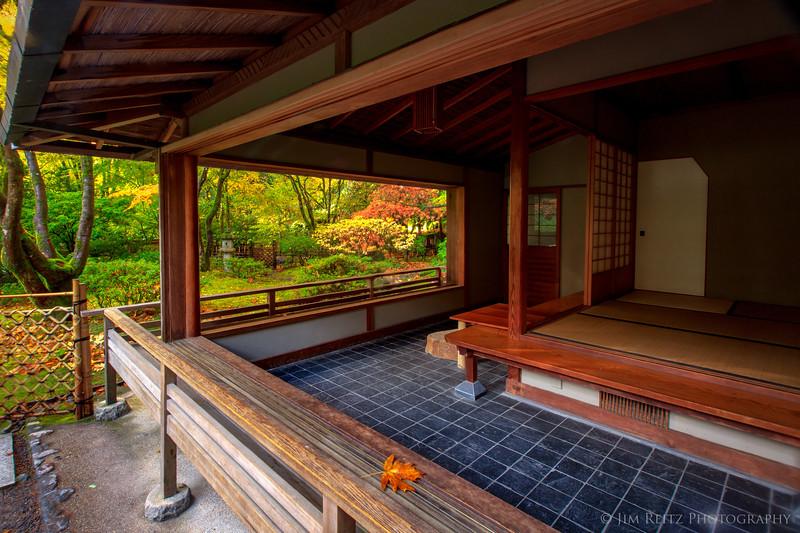 Tea house - Portland Japanese Garden