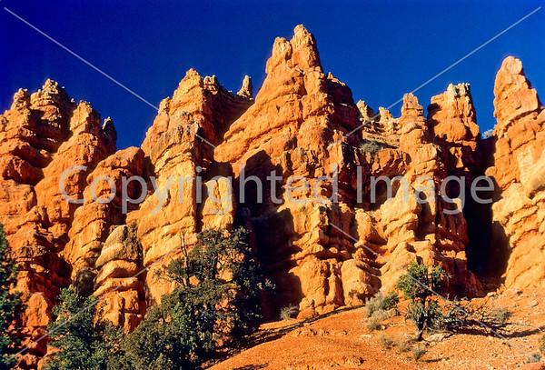 Utah - Red Canyon near Bryce Canyon Nat'l Park - Scenics