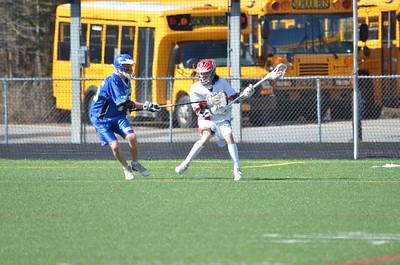 BJV Lacrosse vs Whitesboro 3-26-16