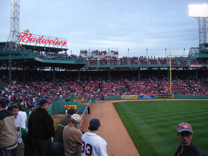 Fenway Park to see the A's win in extra innings