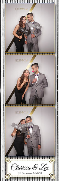 Clarissa & Zac Photostrips