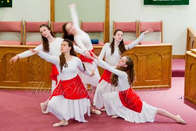 Caroline Worships in Dance