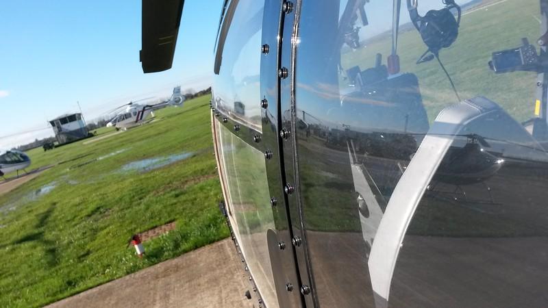 Helicopter - Gazelle / Aerospatiale