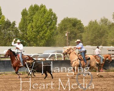 Elko Co No Fair Team Roping