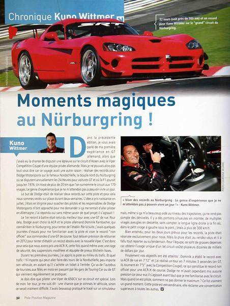 Pole Position magazine - Fall 2011.