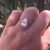 2.13ct Antique Pear Shape Diamond, GIA I, VS2 29