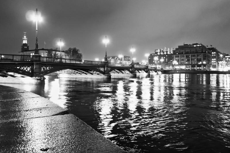 Stockholm Night View / Вид на ночной Стокгольм