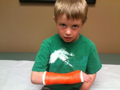 Quinn broken wrist 2012