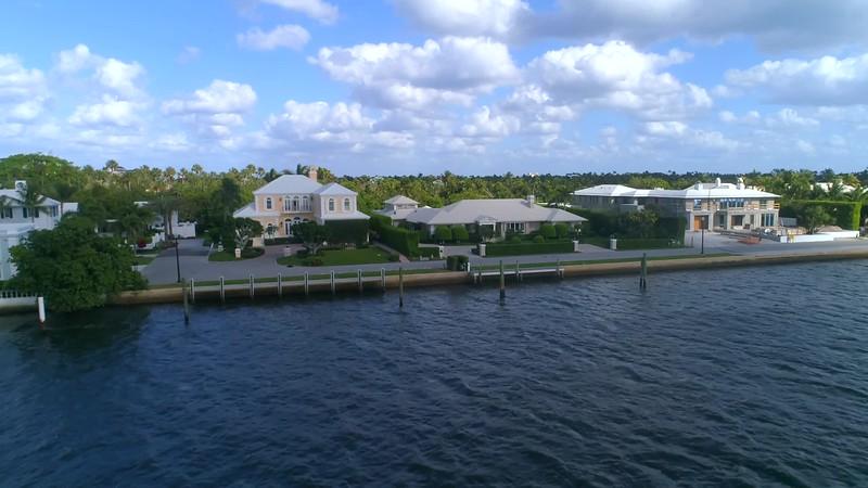 Aerial video Everglades Island Palm Beach Florida 4k 60p