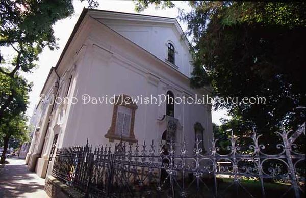 HUNGARY, Szeged. Old Synagogue. (2004)