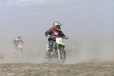 2008 Desert 100--Mini Race - Green Bikes
