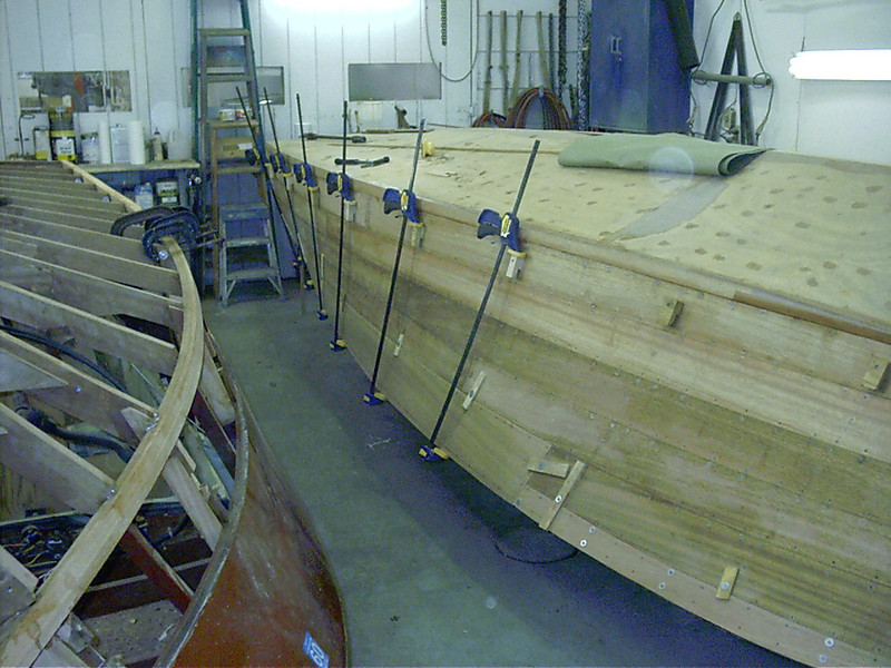 Last port plank fit.