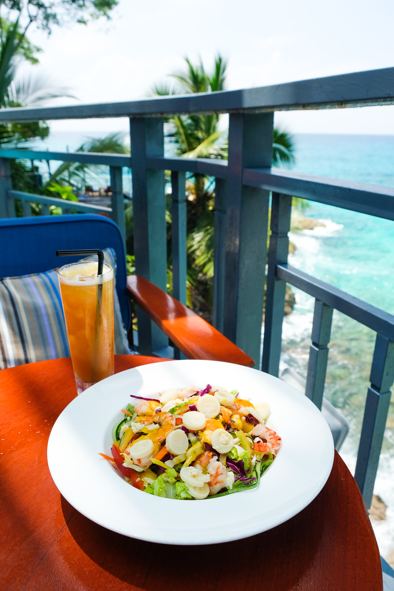 Food at Hilton Seychelles Northolme