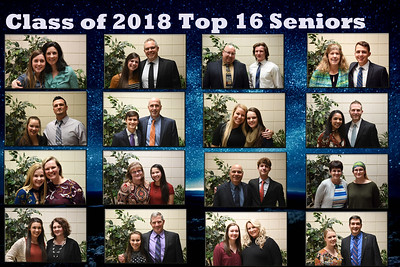2018 Top 16 Seniors (4/17/2018)