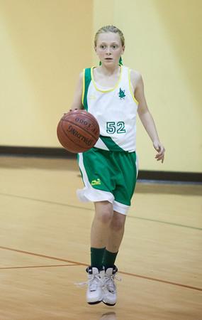 Basketball (JV Gold Redwood) vs. SF School   Jan. 24, 2014