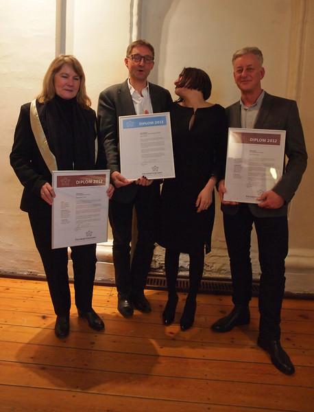 Reception, Diplomering. Bygningsarv.dk. 28-11-2012. Foto: Martin Bager.