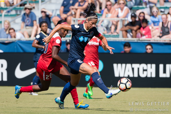 NC Courage vs Washington Spirit 8-19-2017