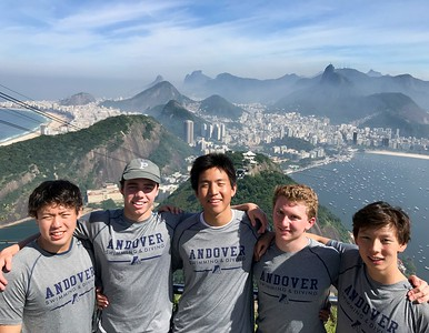 Andover Represents USA at the World Schools Swimming Championships in Rio