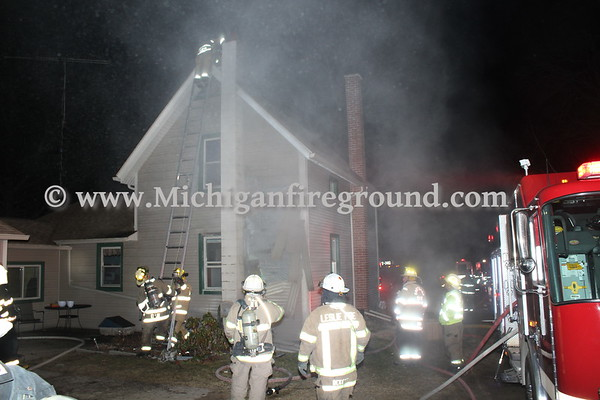3/18/18 - Leslie chimney fire, 4888 S. Main