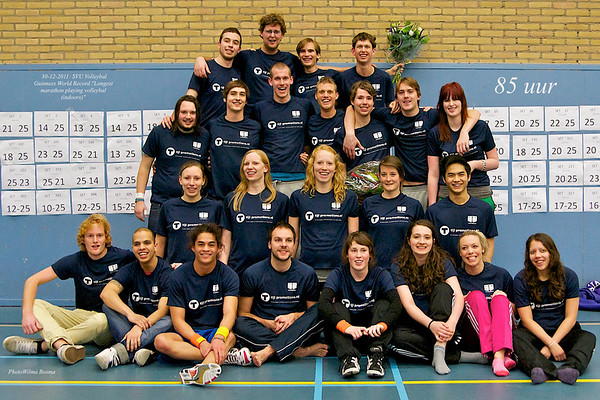 SVU Worldrecord Volleybal Marathon