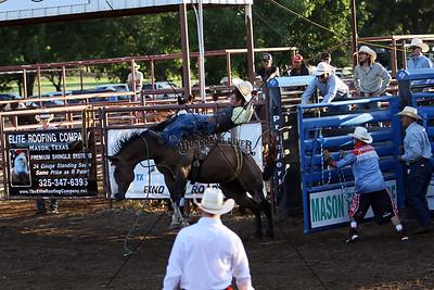 Saturday Broncs, Bare and Saddle
