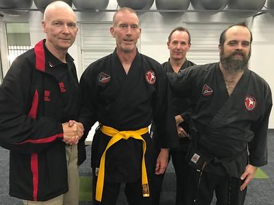 Combat Self Defence Gradings June 2018