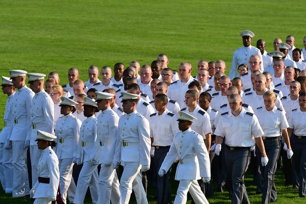 R-Day Oath - B Company
