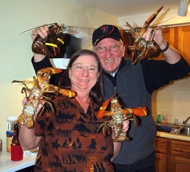 We got these beauties right from the lobstermen!