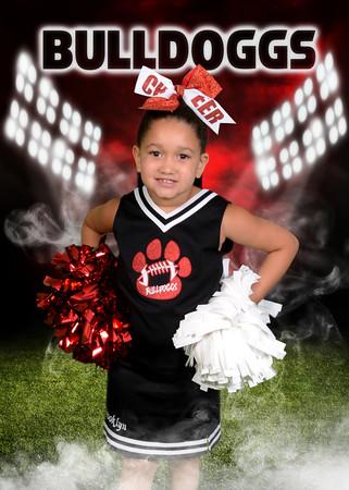 BCCA Cheerleaders 2020