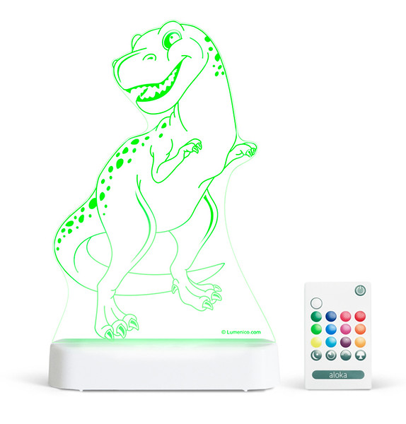 Aloka_Nightlight_Product_Shot_Trex_White_Green_With_Remote.jpg