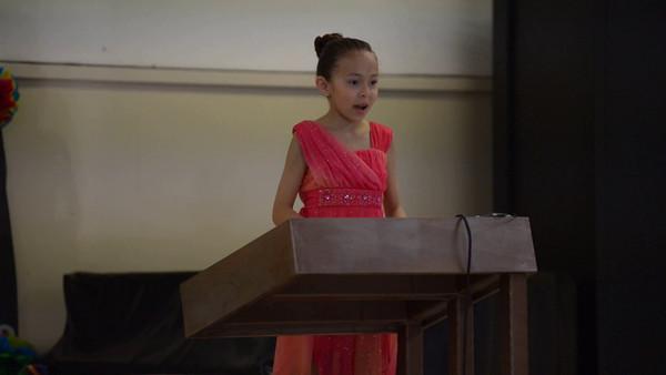 St Frances 3rd Grade Speeches 2014