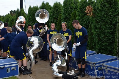 Notre Dame Saturday Morning Rehearsal 2012