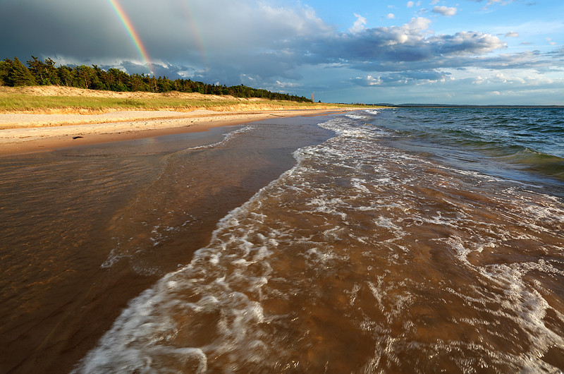 Esch Road Beach Double Rainbow (Sleeping Bear Dunes National Lakeshore - Michigan)