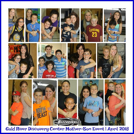 APRIL 20TH, 2018   Gold River Discovery Center Mother-Son Event