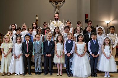 St. Martin De Porres First Communion_2016