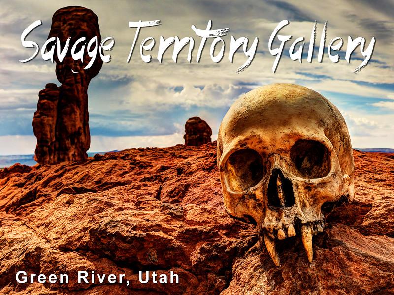 Vampire Skull in Savage Territory