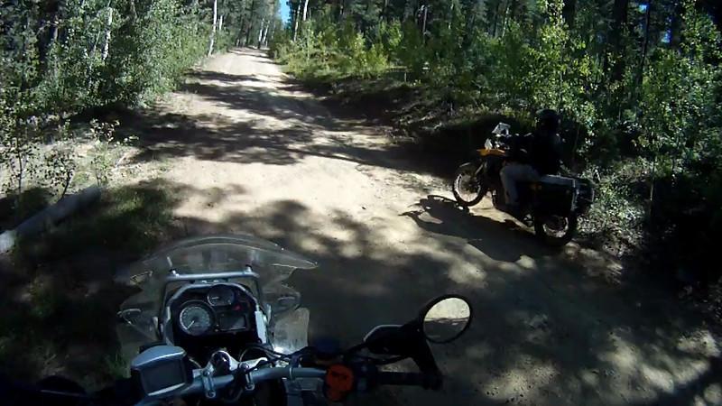 2010-09-26 Elk Mtn BMW Shop Ride 01e Dirt