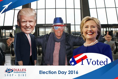 Dulles Shopping & Dining: Election Day 2016